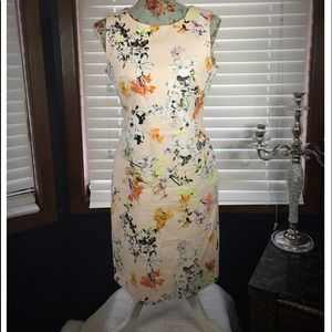 Dalia Collection Floral Dress size 6